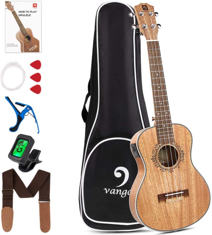 Vangoa 26-inch Electric Tenor Ukulele